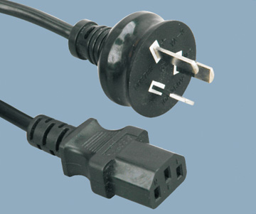 Australia SAA approval power cord to c13